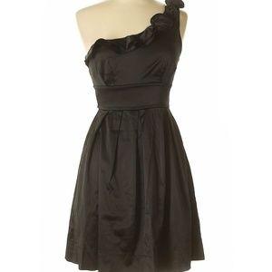 Speechless Black One-Shoulder Cocktail Dress 11